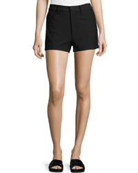Helmut Lang Denim Mini Shorts Black