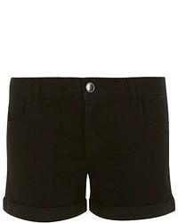 Dorothy Perkins Black Denim Shorts