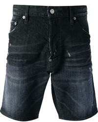 DSquared 2 Distressed Denim Shorts