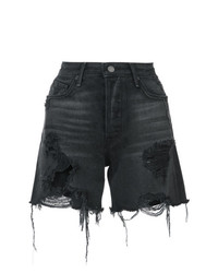 Grlfrnd Frayed Denim Shorts
