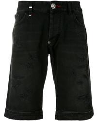 Philipp Plein Frayed Edge Shorts