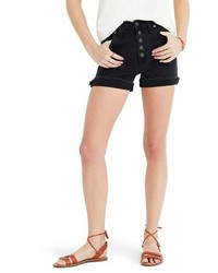 High rise denim shorts medium 4470837