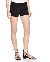 Paige Denim Jimmy Jimmy Shorts In Vintage Black