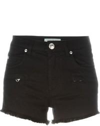PIERRE BALMAIN Logo Denim Shorts