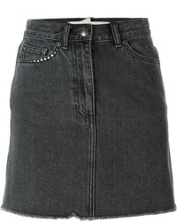 Marc by Marc Jacobs Cherry Patch Denim Skirt