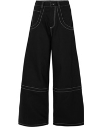 Maison Margiela High Rise Wide Leg Jeans