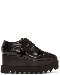 Stella McCartney Black Elyse Star Platform Derbys