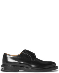 Vetements Churchs Polished Leather Derby Shoes