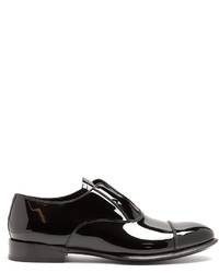 Alexander McQueen Patent Leather Derby Shoes