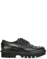 Neil Barrett Pierced Punk Derby Shoes