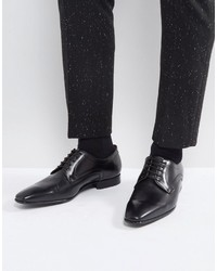 Paul Smith Ps By Roth Derby Lace Up Shoes In Black