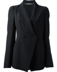 Alexander McQueen Double Breasted Structured Blazer