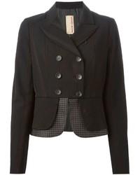Antonio Marras Vintage Striped Double Breasted Blazer