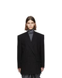 Isabel Marant Black Eladim Double Breasted Blazer