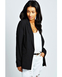 Boohoo Delilah Double Breasted Blazer