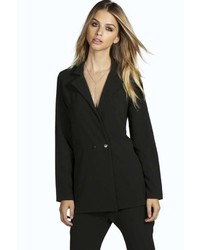 Boohoo Lexi Double Breasted Tailored Blazer