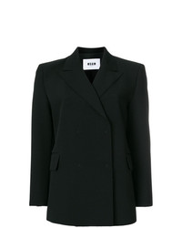 MSGM Boxy Fit Tailored Jacket