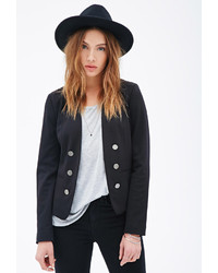 Forever 21 Button Front Blazer
