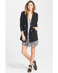 Free People Casual Friday Double Breasted Blazer