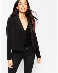 Asos Collection Cropped Double Breasted Blazer