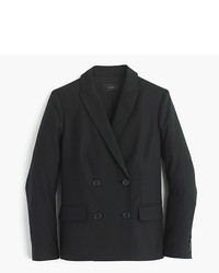 J.Crew Double Breasted Blazer In Super 120s Wool