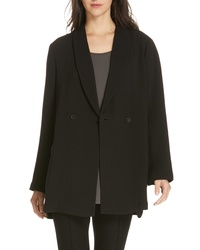 Eileen Fisher Double Breasted Blazer