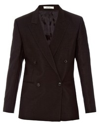 Paul Smith Double Breasted Mohair And Wool Blend Jacket