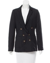 Rag & Bone Double Breasted Peak Lapel Blazer