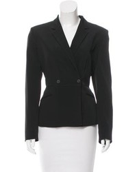 Prada Double Breasted Peplum Blazer