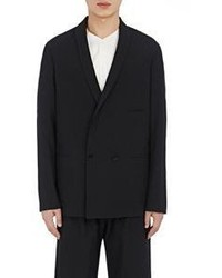 Lemaire Double Breasted Sportcoat Black