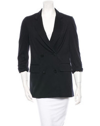 3.1 Phillip Lim Double Breasted Wool Blend Blazer