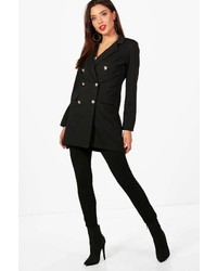 Boohoo Edie Double Breasted Blazer