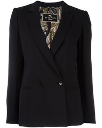 Etro Double Breasted Blazer