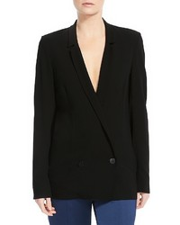 Halston Heritage Double Breasted Blazer