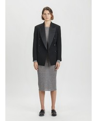 Isabel Marant Johna Wool Double Breasted Blazer