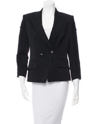 Versace Lace Trimmed Double Breasted Blazer W Tags