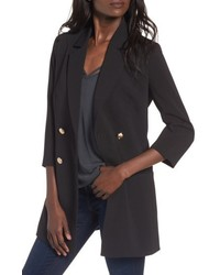 Longline double breasted blazer medium 6747758