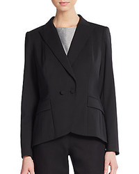Lafayette 148 New York Lupita Double Breasted Blazer