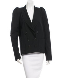 Proenza Schouler Notched Lapel Double Breasted Blazer