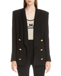 Balmain Oversize Double Breasted Blazer