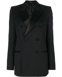 Maison Margiela Peaked Lapel Double Breasted Blazer