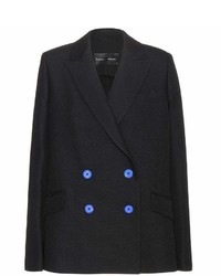 Proenza Schouler Double Breasted Wool Blend Blazer