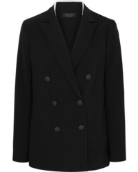 Rag & Bone Ryan Double Breasted Crepe Blazer