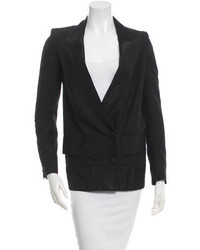 Stella McCartney Double Breasted Silk Blazer