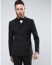 Asos Super Skinny Double Breasted Suit Jacket