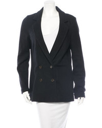 Tory Burch Wool Double Breasted Blazer