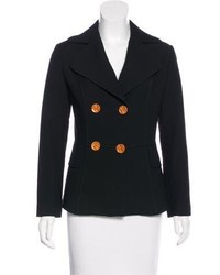 Dolce & Gabbana Virgin Wool Double Breasted Blazer