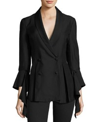 C/Meo Well Be Alright Double Breasted Blazer Black