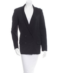 Elizabeth and James Wool Double Breasted Blazer