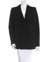 Givenchy Wool Double Breasted Blazer